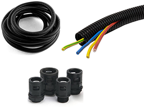 Flexible Corrugated Pipes & Fittings
